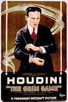 THE GRIM GAME, Harry Houdini, 1919