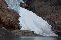 glacier Briksdalbreen