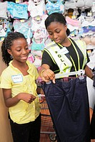 Florida, North Miami Beach, Wal-Mart, Walmart, Lions Club Back to School Shopping Spree, shopping, disadvantaged, student, volunteer, school supplies,...
