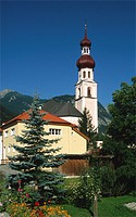 Austria, Tyrol, small country church,