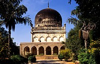 TOMB OF SULTAN MOHAMMED QUTAB SHAH, ANDHRA PRADESH,INDIA