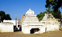 A VIEW OF TEMPLE AT ALAMPUR, ANDHRA PRADESH,INDIA