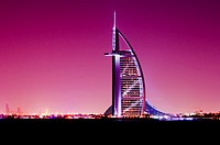 Middle East, UAE, Dubai, Burj al Arab Hotel