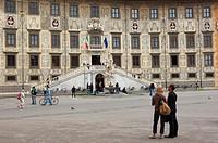 Pisa, Cavalieri Square, Piazza dei Cavalieri, UNESCO world heritage site, Tuscany, Italy