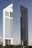 THE EMIRATES TOWERS IN DUBAI,UAE