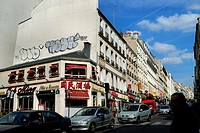 Paris, France, Street Scene, Real Estate, housing in 20th District, Rue de Belleville, Chinatown