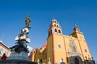 Basilica de Nuestra Senora de Guanajuato, Guanajuato, UNESCO World Heritage Site, Guanajuato state, Mexico, North America