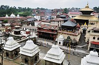 Pashupatinath temple, UNESCO World Heritage Site, Kathmandu, Bagmati, Central Region, Nepal, Asia