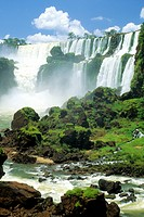 Iguazu Falls, Misiones, northern Argentina, South America