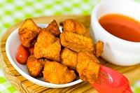 Chicken mit Chili Soße