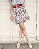 woman, skirt, fashion,