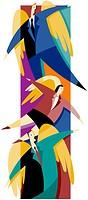 businessperson collage