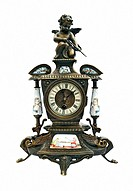 Antique interior clock