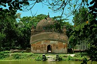 The Shah Mahmud Mosque in Kishoreganj, Bangladesh December 16, 2007