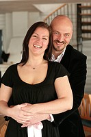 A Scandinavian couple.