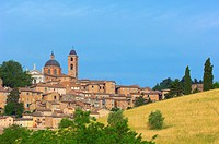 Urbino, Marche, Italy, UNESCO World Heritage site.