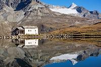 Schwarzsee lake, Zermatt, Switzerland
