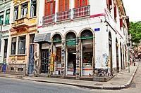 Old Colonial Portugese buildings ,Lapa, Rio de Janeiro,Brazil
