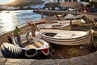 Cadaques, Alt Emporda, Costa Brava, Girona province, Catalonia, Spain.