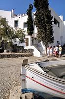 Casa-Museo Salvador Dalí. Port Lligat, small village located in a small bay on Cap de Creus peninsula, on the Costa Brava of the Mediterranean Sea, ne...
