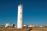 Lighthouse, Saint_Gilles_Croix_de_Vie, Saint, Hilaire, de, Riez, Poitou_Vendee, Charente_Maritime, France, Feu, de, Grosse, Terre,