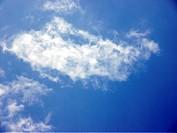 Cloud, blue sky, City, Rio de Janeiro, Brazil