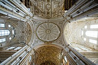 Photograph of the Mezquita Cathedral in Cordova Spain