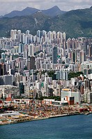 Hong Kong cityscape, China (thumbnail)