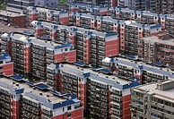 Rows of residential houses (thumbnail)