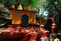 Buddhist temple at Maheskhali Cox's Bazar, Bangladesh March 2011