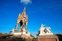 England, London, Albert Memorial