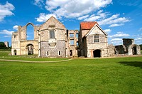 England, Norfolk, Castle Acre, priory