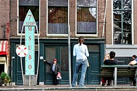 The Netherlands, North Holland, Amsterdam, native house of Anne Frank