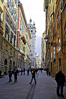 Italy, Liguria, Genoa, duomo di san lorenzo