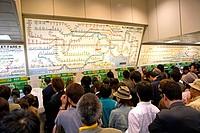 Japan, Tokyo, subway
