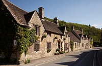 Castle Combe village, Wiltshire, England, UK