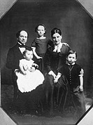 AMERICAN FAMILY, c1850.