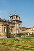Blenheim Palace with Italian Garden - England
