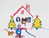 Holiday Season Art for Children Private Collection