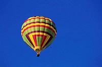 Hot air balloon in the sky, Albuquerque, New Mexico, USA