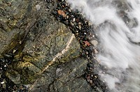Sea and rock, Sidney, British Columbia, Canada