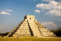 Pyramid of Kukulkan Chichen Itza Archaeological Site, Yucatan, Mexico