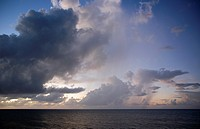 Cloud Formation at Boons Bay in Antigua