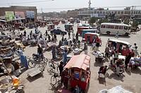 traffic in herat, Afghanistan