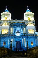 San Francisco church  Quito  Ecuador