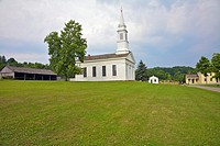 Church at Hale Farm Village, Cuyahoga Valley National Park, Cleveland, Ohio, USA