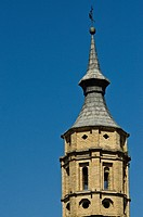 San Juan de los Panetes church  Saragossa city lifestyle  Aragon  Spain