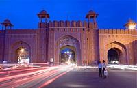 Ajmeri Gate  Jaipur  Rajasthan,India
