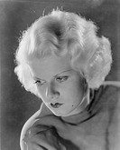 JEAN HARLOW (1911-1937).American film actress. Photographed in the 1930s.
