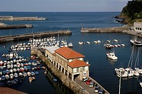 Harbour, Mutriku, Guipuzcoa, Basque Country, Spain